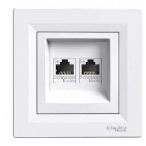 2xRJ45CAT5e-UTP (White)