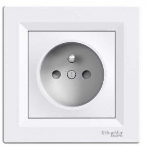 Socket Outlet (UPS - Child Protection - White)