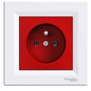 Socket Outlet (UPS - Red&White)